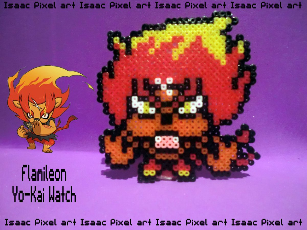 Isaac Pixel Art On Twitter En Breve Video De Hama De