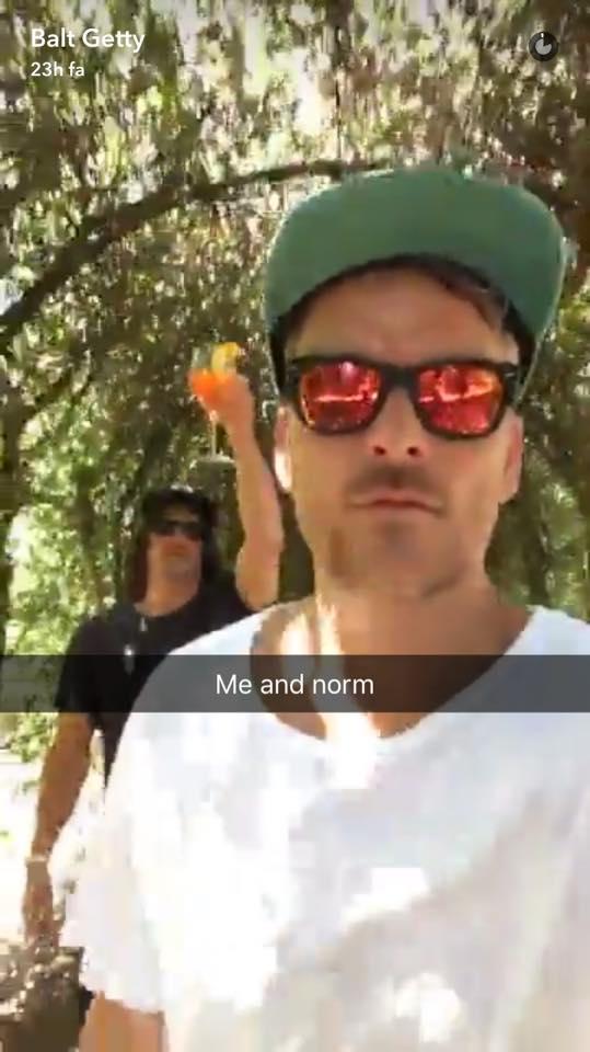 Norman reedus snapchat