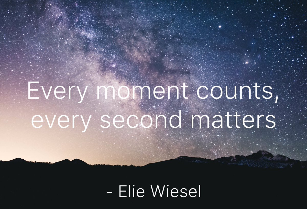 Every Moment Counts Quotes