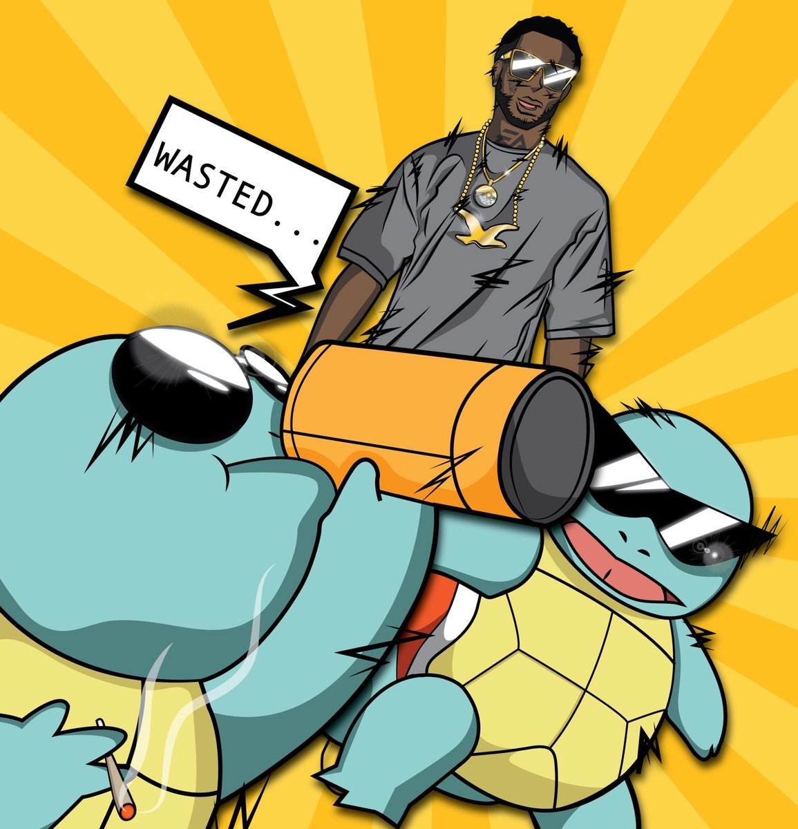 Gucci x Squirtle Squad #BRODIE https://t.co/5OnXwbteBK