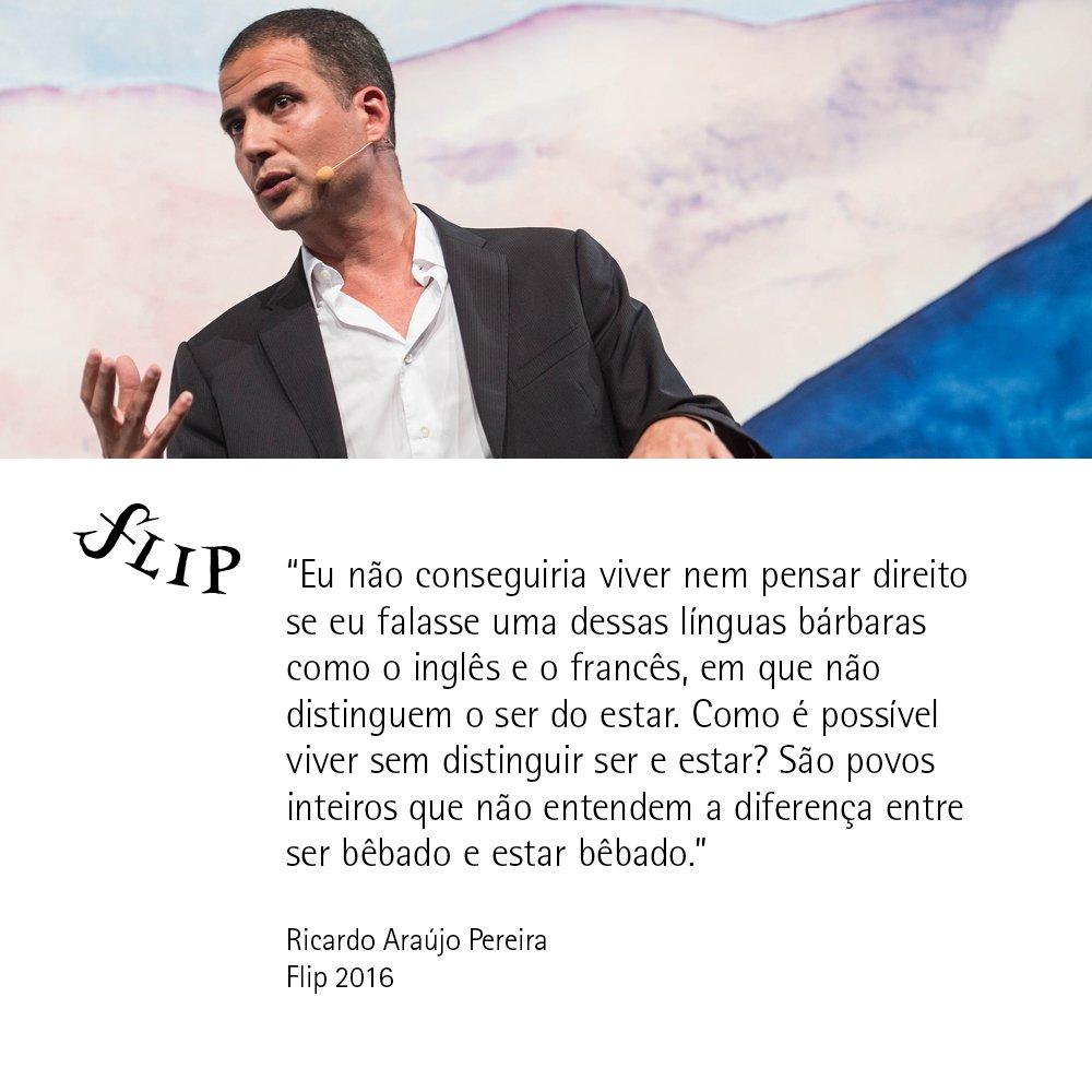 "O humorista português Ricardo Araújo Pereira participou da mesa 'Mixórdia de temáticas"" #Flip2016 https://t.co/2tGXlNepWp"