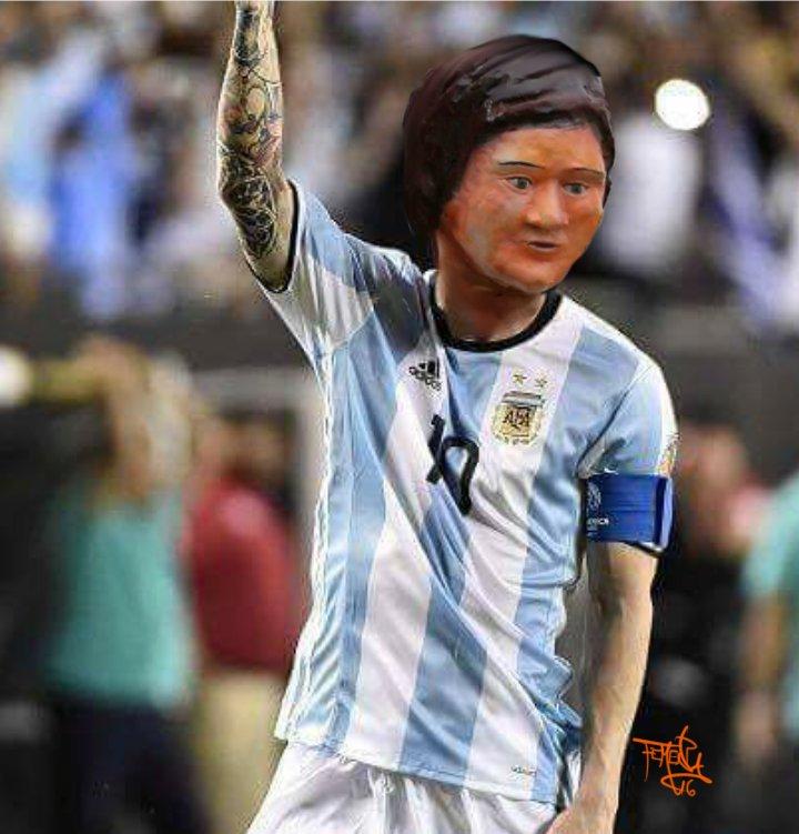 La estatua más fea dedicada a Leo Messi
