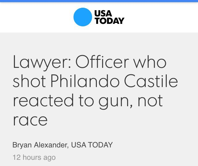 LATINO COP SHOT CASTILE  Don't Tell Anyone  It Ruins The #Racist White #Police Narrative  https://t.co/fpbwXPhddl