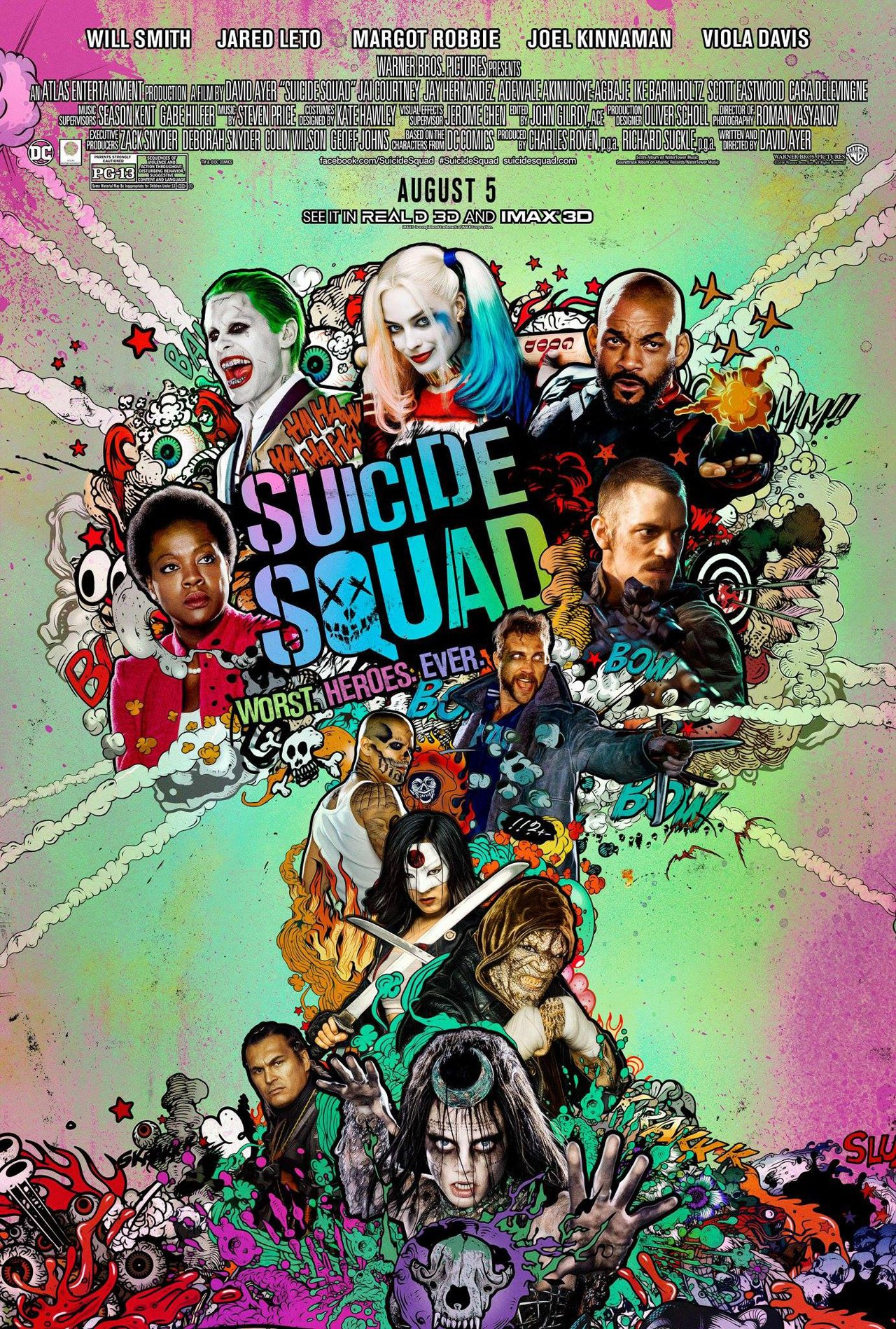 New Suicide Squad International Trailer Revealed 1