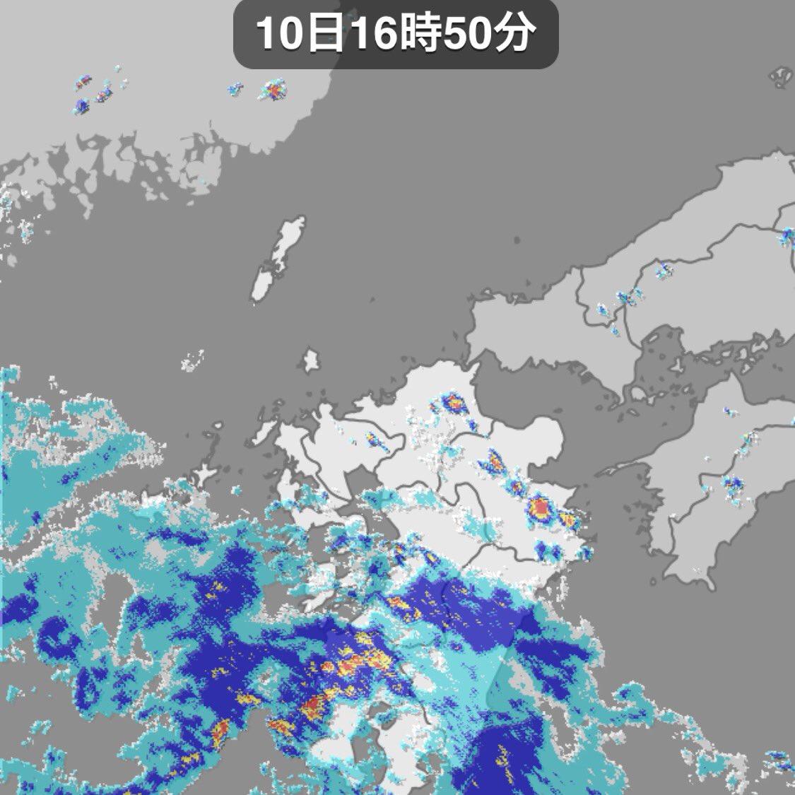 千葉市 雨雲レーダー