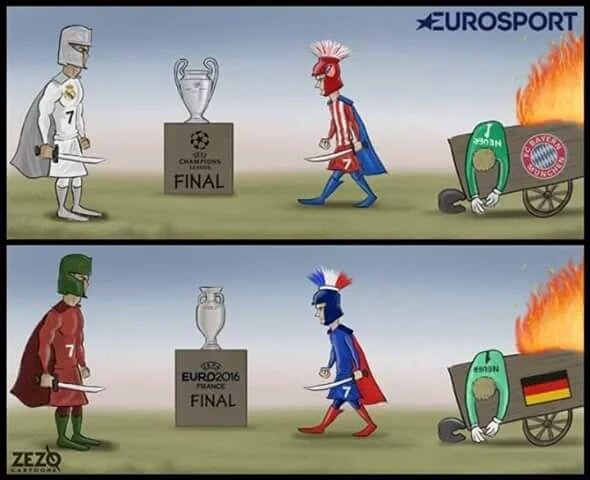 Португалия - Франция. Последний день Евро. Как это было - изображение 48
