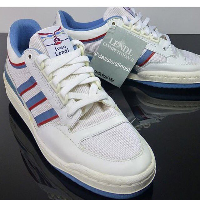 CASUAL GENT CLOTHING on Twitter: Adidas Ivan Lendl 1980s