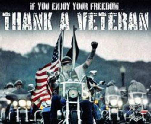 If you enjoy your freedom Thank A Veteran... This 4th, enjoy your Independence Day! Ride free!!! https://t.co/JD1pHJ7tXT