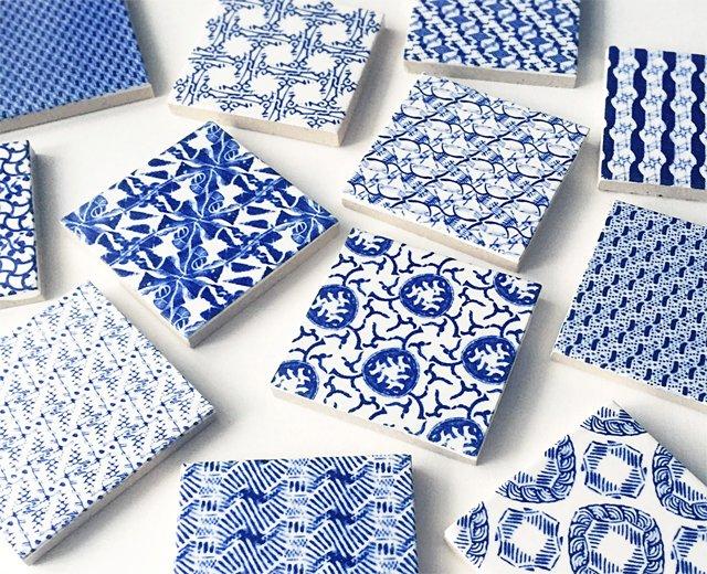 陶片の柄を抽出し、再構成することで新しい模様を生み出すguse arsのプロジェクト「washed pattern」から生まれたタイルのフェアを開催します。https://t.co/5OrqmhDvtj https://t.co/GTiimgqgzs
