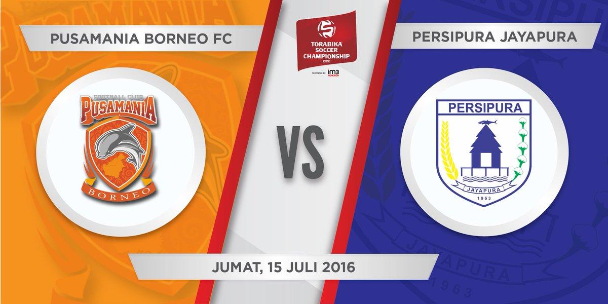 Pusamania Borneo FC VS Persipura Live Indosiar