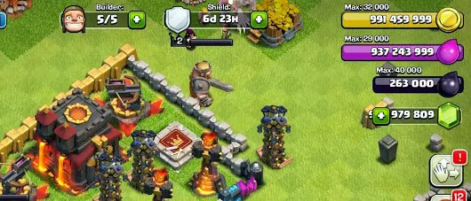clash of clans hack gems coins and elixir