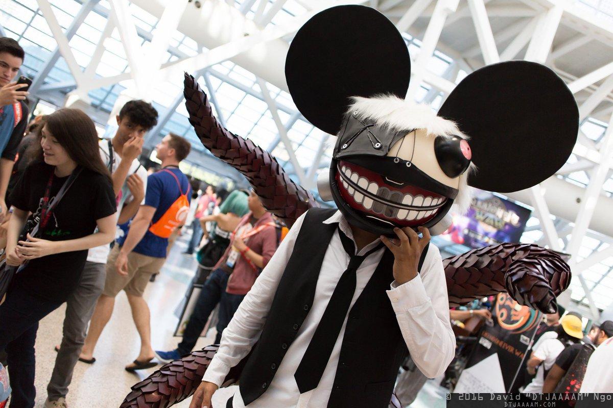 DTJAAAAM On Twitter Tokyo Ghoul Deadmau5 Cosplay Animeexpo Animeexpo2016 Ax2016