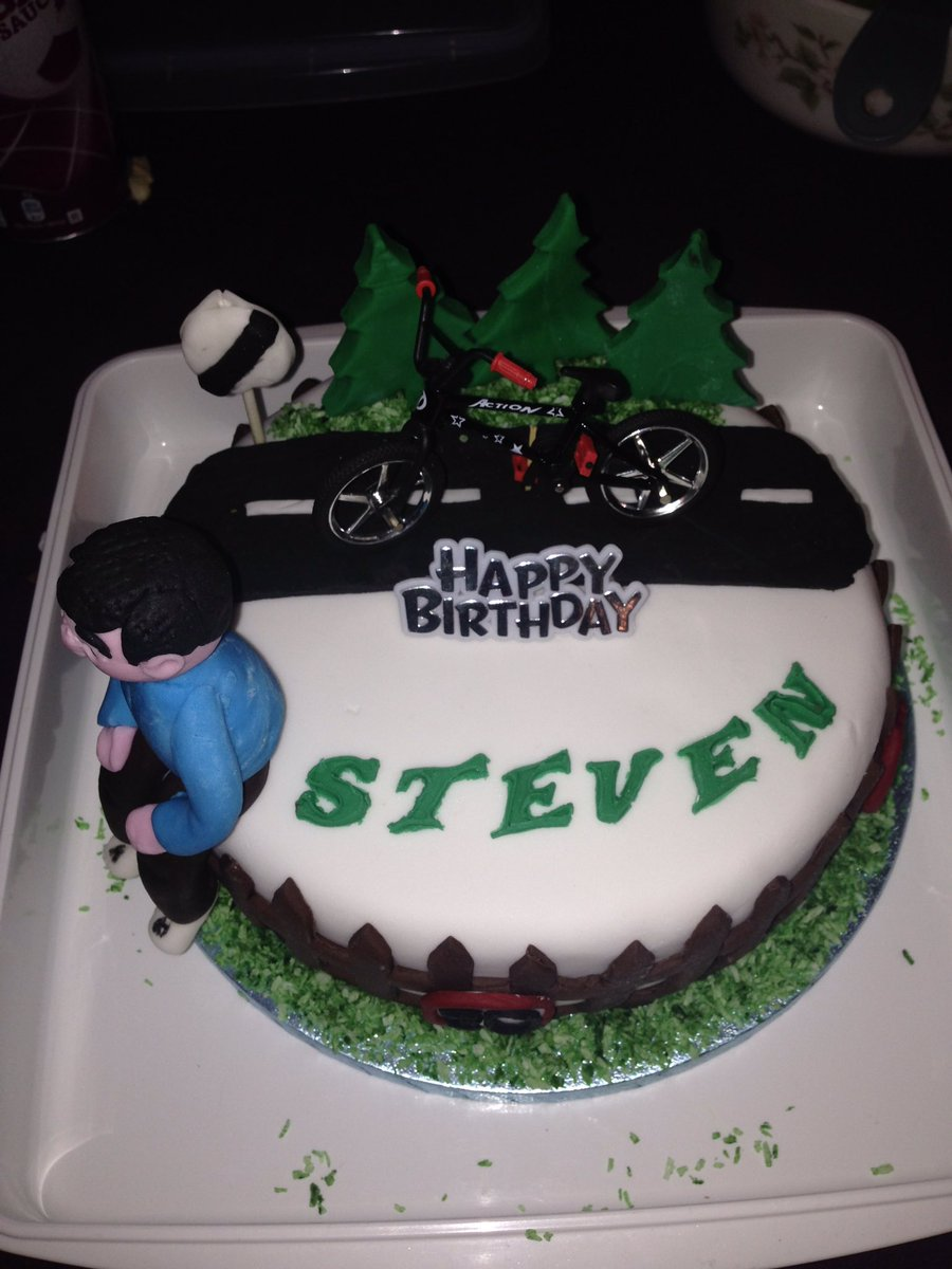 Steve J On Twitter Great Cycling Birthday Cake Made By My Mad