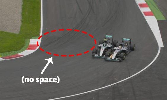Rosberg: 'Hamilton turned in on me'...