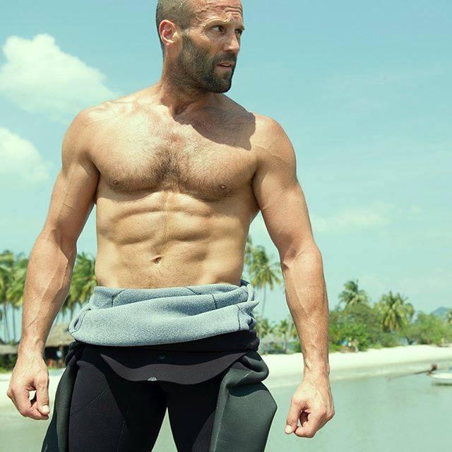ジェイソンステイサムの美しすぎる筋肉