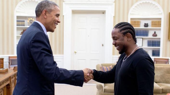 Kendrick Lamar Performing at Obama's 4th of July White House BBQ https://t.co/e3qOcJzoXh https://t.co/h1qMerKX7u