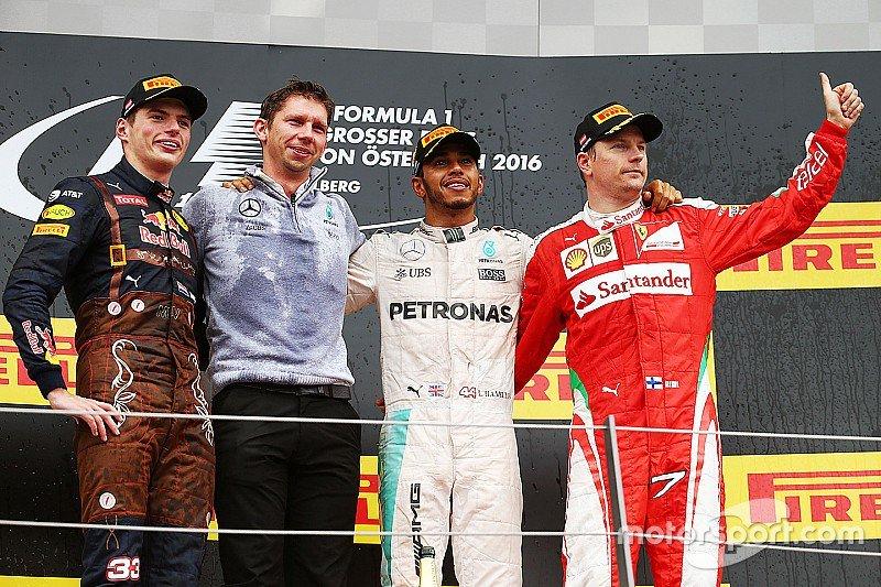 GP Austria Spielberg F1: tra Hamilton e Rosberg scintille all'ultimo giro, vince Lewis (VIDEO)