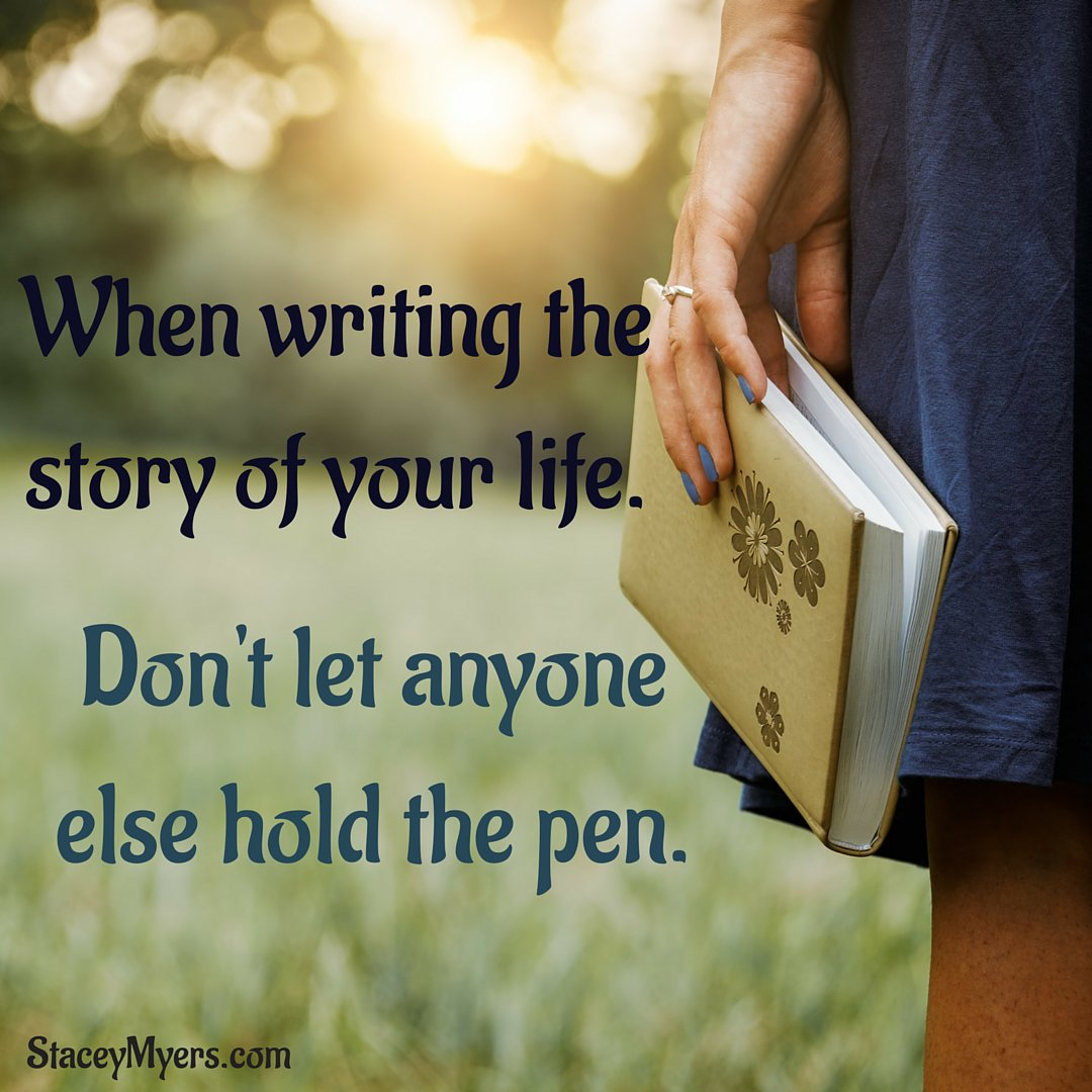 When writing the story of your life. Don't let anyone else hold the pen. #personalpower https://t.co/RoAgzTtQWP