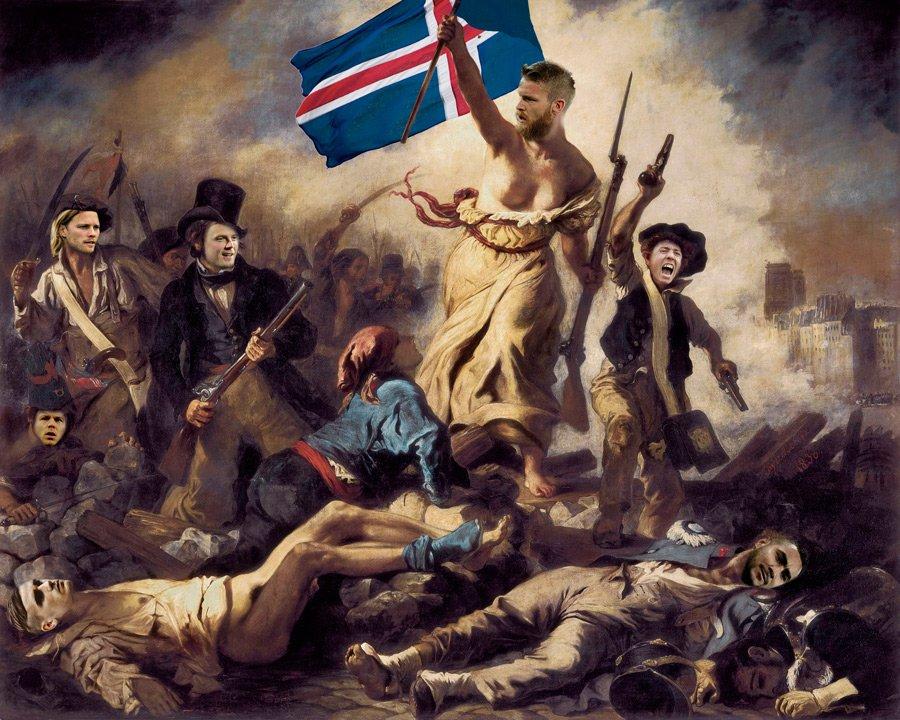 Франция - Исландия. 20-й день Евро. Как это было - изображение 24