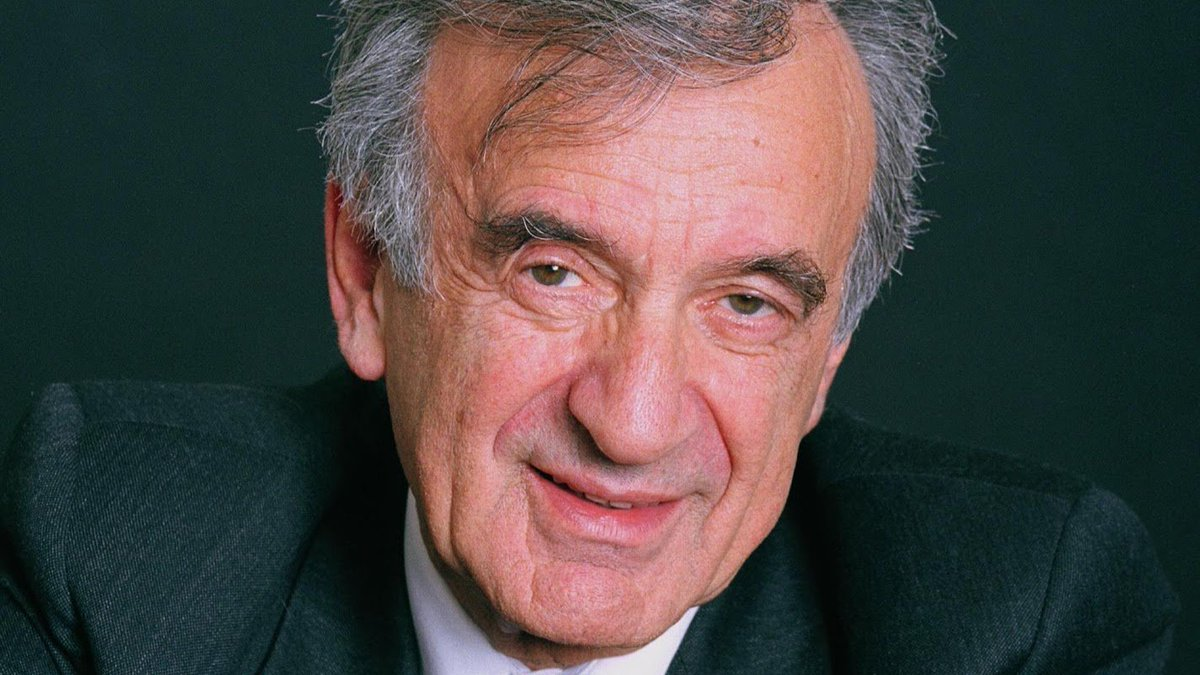 """""""Peace is our gift to each other."""" We remember #ElieWiesel, 1928-2016 https://t.co/GqELe3e6c0 https://t.co/i7xpuS4uHq"""