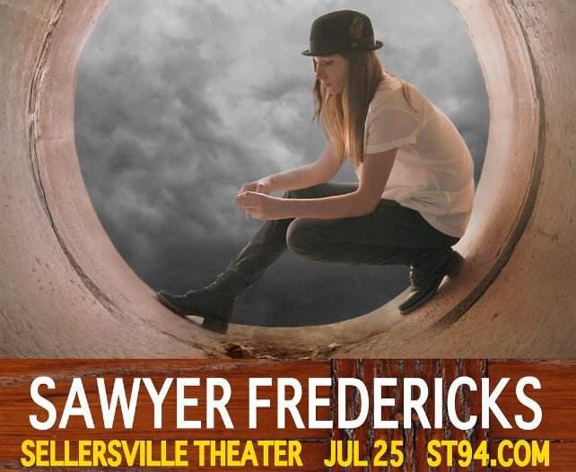 .@NBCTheVoice's Sawyer Fredericks will be playing at the Sellersville Theater 7/25 @ST94_Insider @sawyerisagoddis https://t.co/00F3RiGywH