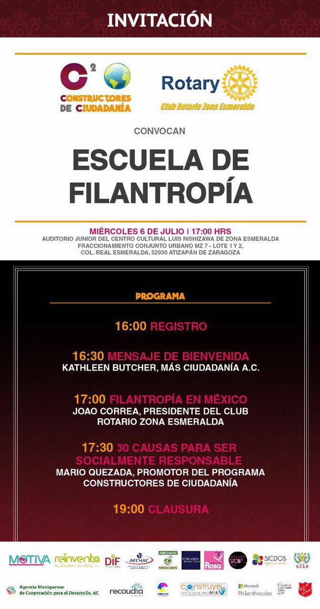 El futuro de la humanidad está en la #filantropia noti.mx recomienda a la Escuela de Filantropía @iconoclasta_mx https://t.co/IJOwNeV7VT