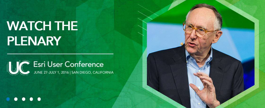 Here's your chance to watch the plenary videos as many times as you want! https://t.co/97DdnHbApr #EsriUC https://t.co/6K73xXwMXL