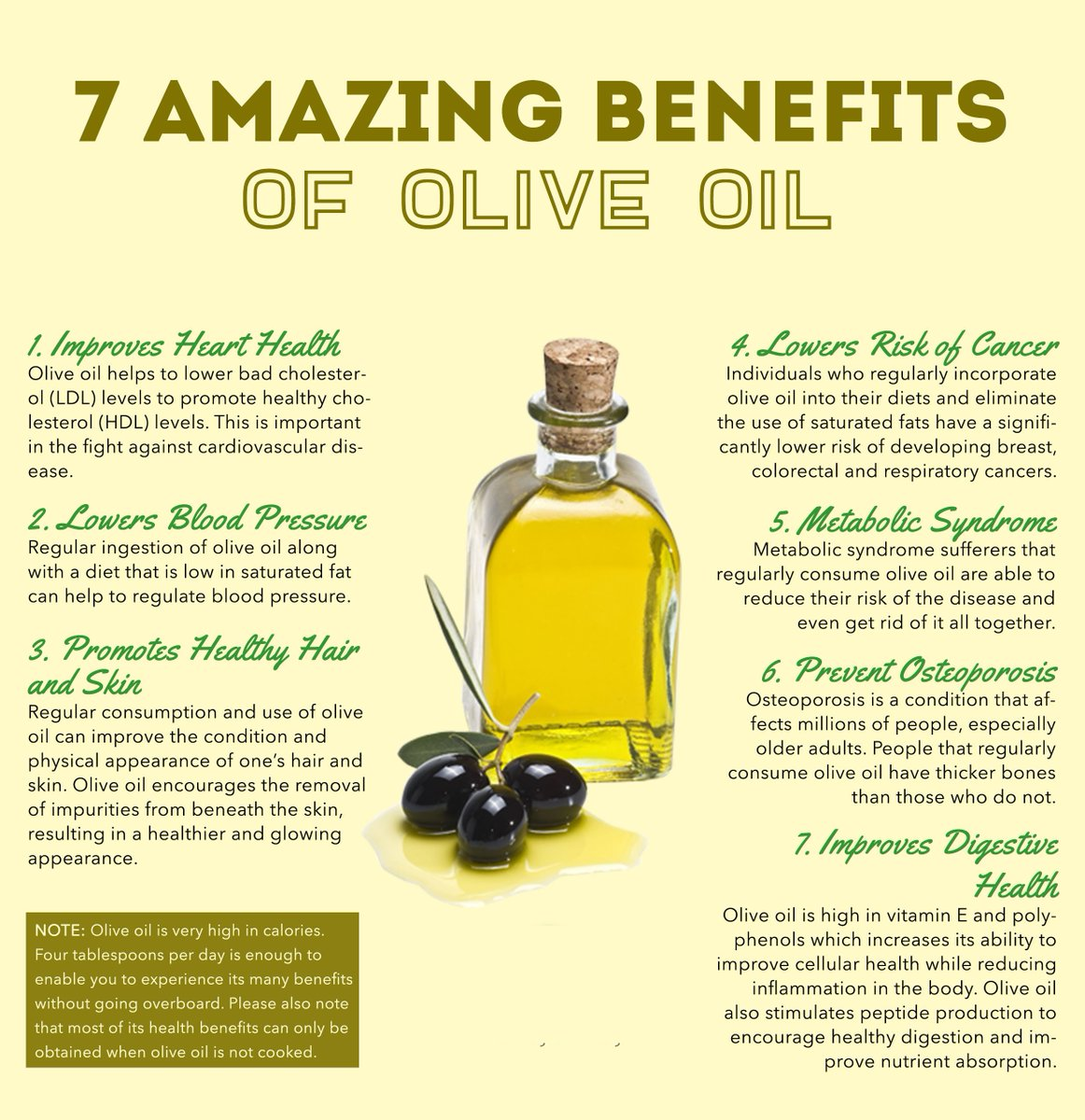 "partinifoods on twitter: ""7 amazing benefits of olive oil"