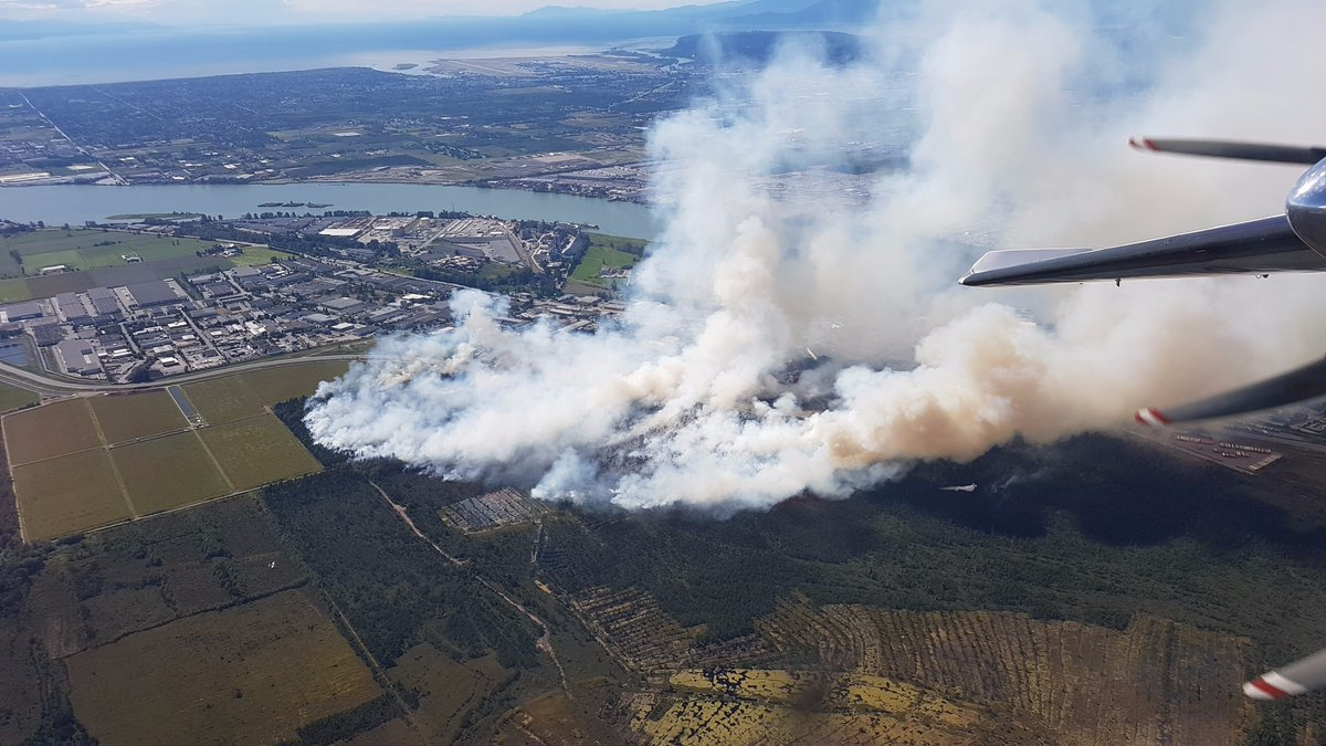 UPDATED: Burns Bog fire in #Delta reaches 50 hectares #burnsbogfire https://t.co/4Ulm1xkyYY https://t.co/S51HaBo5R7