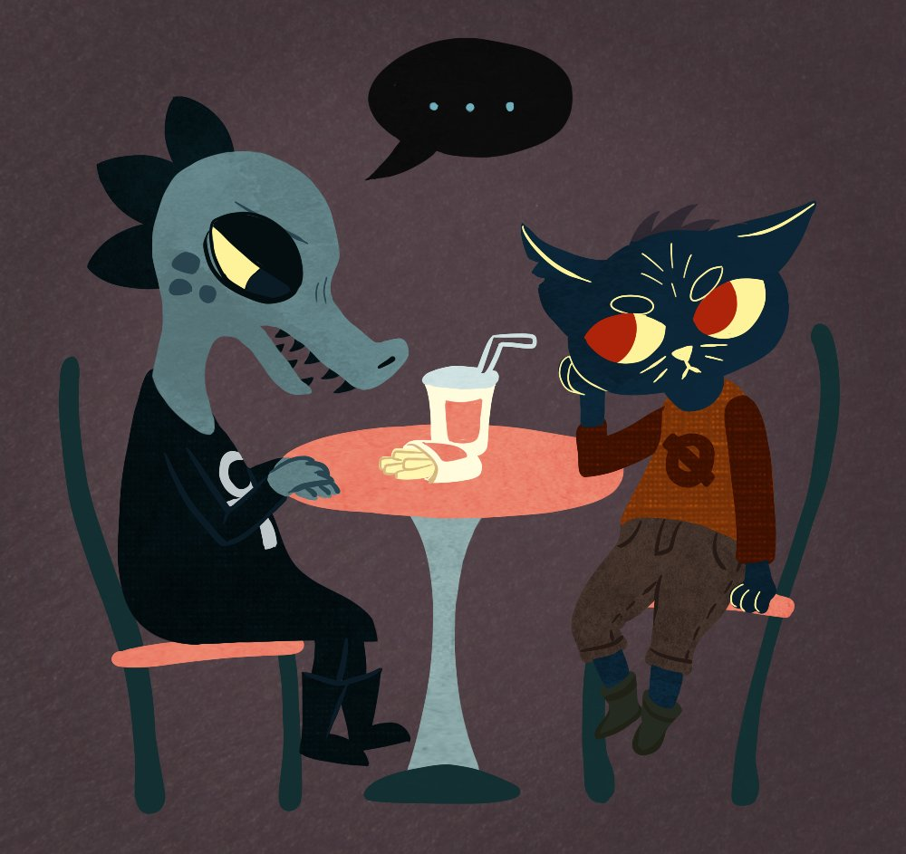 evgay on twitter also drew some night in the woods fanart based off of the demo footage check. Black Bedroom Furniture Sets. Home Design Ideas