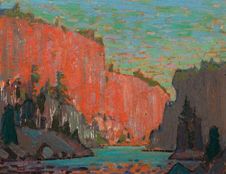 Tom Thomson's Petawawa Gorges. On view as part of Embracing Canada: Landscapes from Krieghoff to the Group of Seven https://t.co/txAkAaitT3