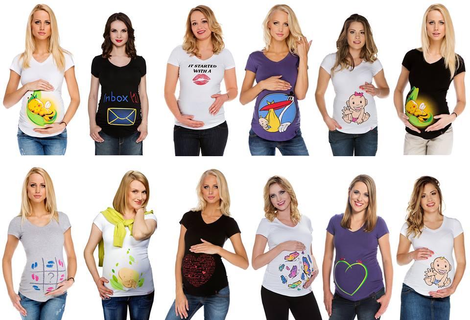 Roliga gravidkläder
