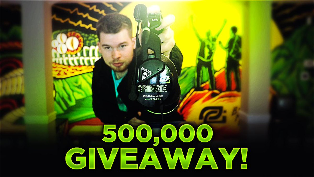 PS4, @Turtlebeach Elite Pro's, and more giveaway for 500k subs! RT this and follow to enter! https://www.youtube.com/watch?v=oCdx2RuRUGA …