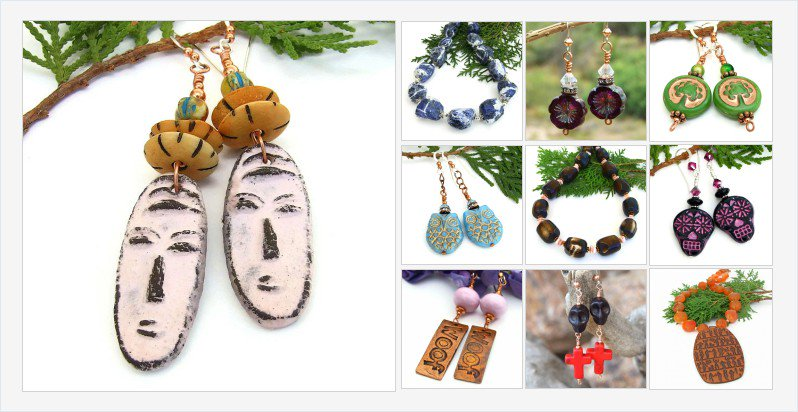 Check out the new one of a kind #handmade #jewelry on my #Indiemade #blog! https://t.co/16nkVEnsVo https://t.co/r5xmy1jTsA