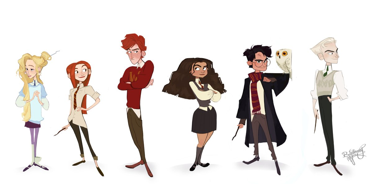 brittany myers on twitter had some fun drawing some harry potter characters d drawing some harry potter characters