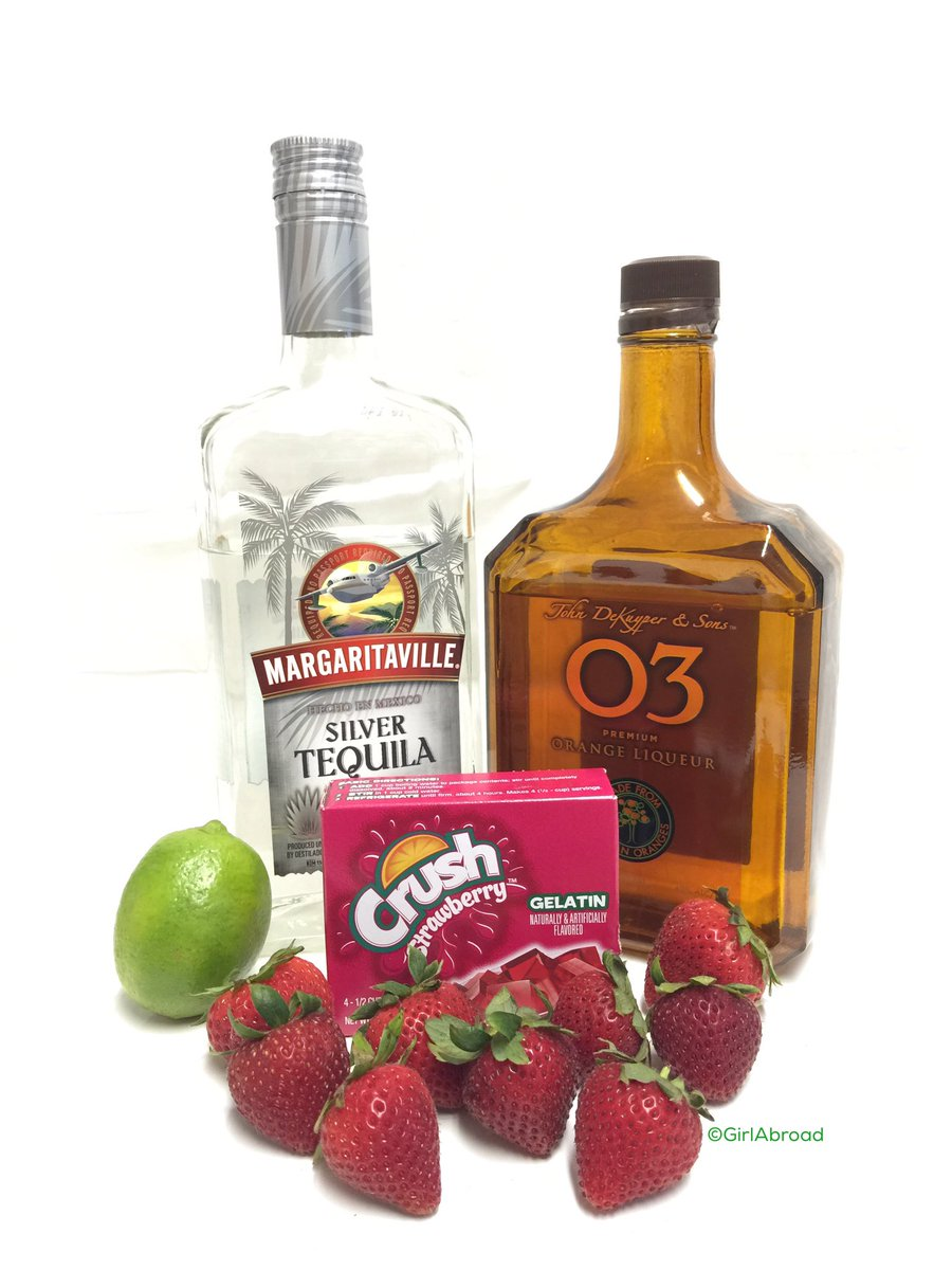 5 simple ingredients to make #July4 #strawberry margarita Jell-O shots #SundaySupper https://t.co/IBBHSAqrmd