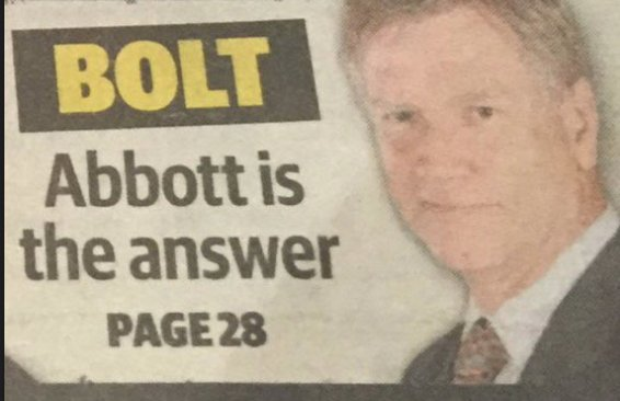Reminds me of 1990 Lib slogan 'The Answer is Liberal'. Hawke replied 'Well it must have been a stupid question' https://t.co/mDIMdhGvBc