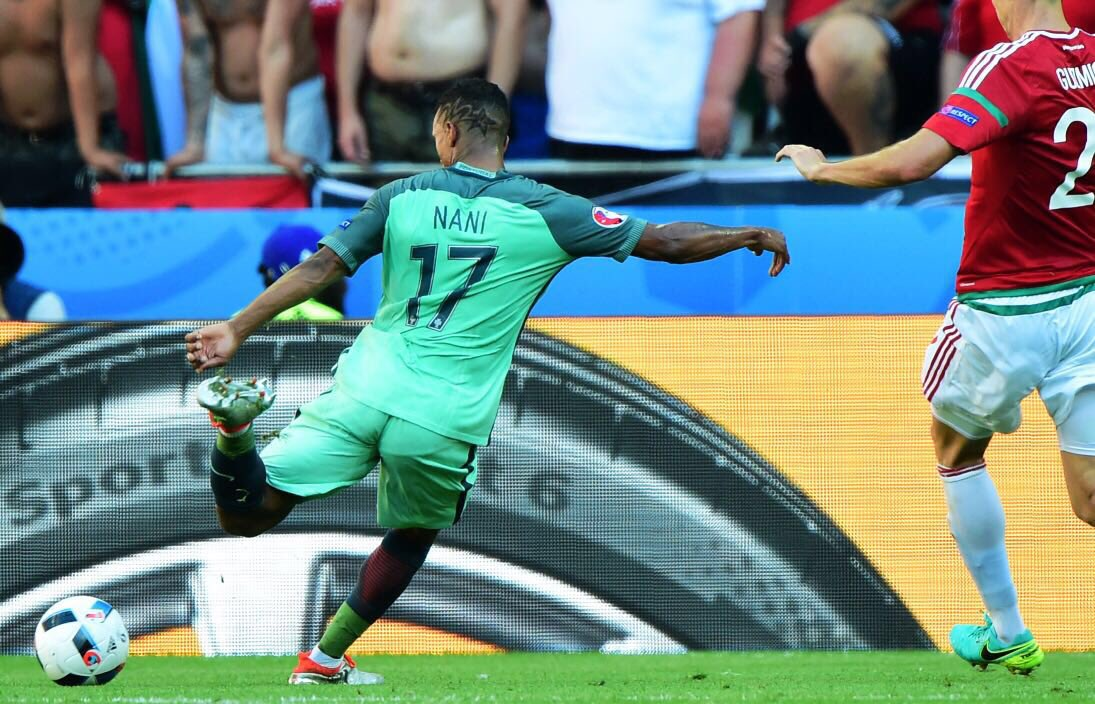 Scored my second #EURO2016 goal against Hungary. Want to win the ball of the match? RT this post! #FirstNeverFollows https://t.co/ik5mWcO35D
