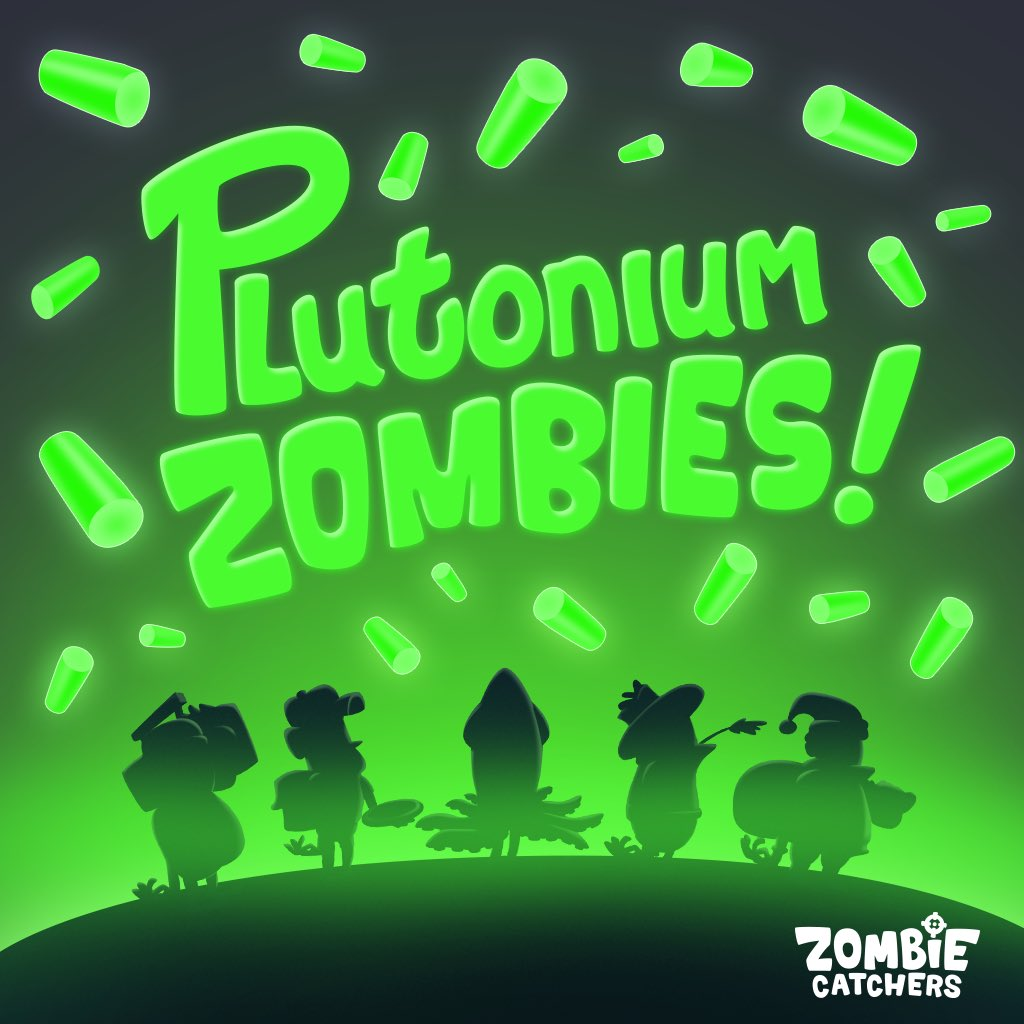 Zombie Catchers On Twitter Catch New Plutonium Zombies New Zombie