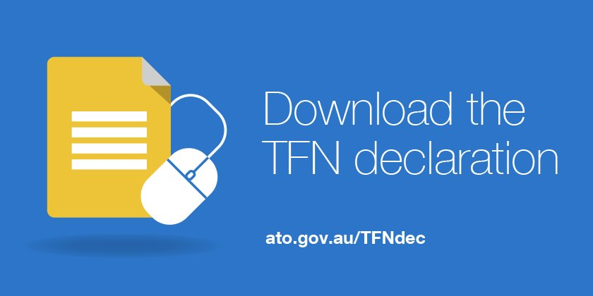 How to get a tax file number (tfn) online tutorial.
