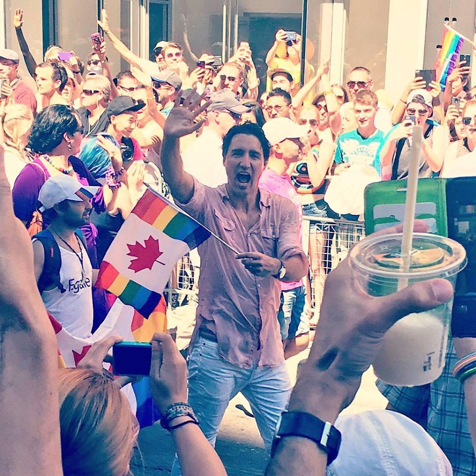 Trudeau à la Gay Pride