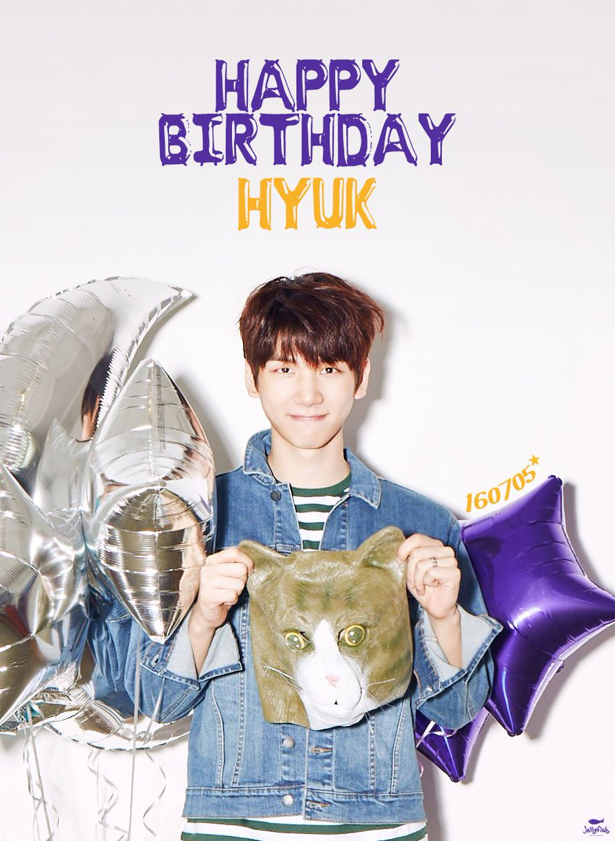 [#혁] 160705 빅스 혁님의 생일을 진심으로 축하합니다! HAPPY BIRTHDAY TO #HYUK #VIXX #HAPPYHYUKDAY https://t.co/ArrdZxGUOi