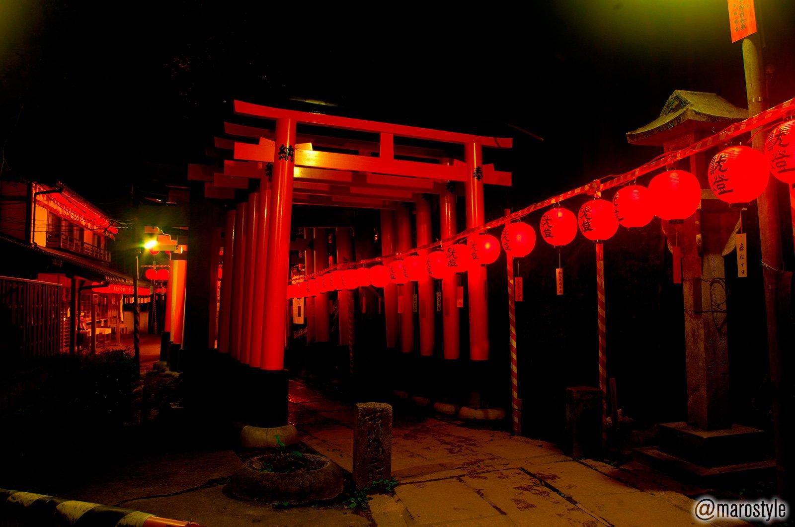 異界感がハンパない!京都「伏見稲荷大社」の本宮祭がちょっとヤバそうと話題