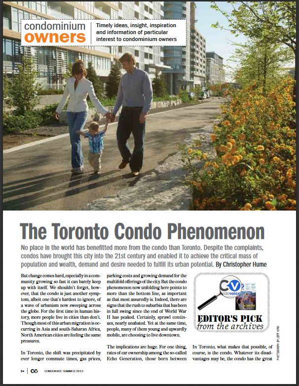 We are pleased to share articles from the #CONDOVOICE archive...  https://t.co/DJp6Cjp23c  #CVEditorPick https://t.co/nLcKm1z498