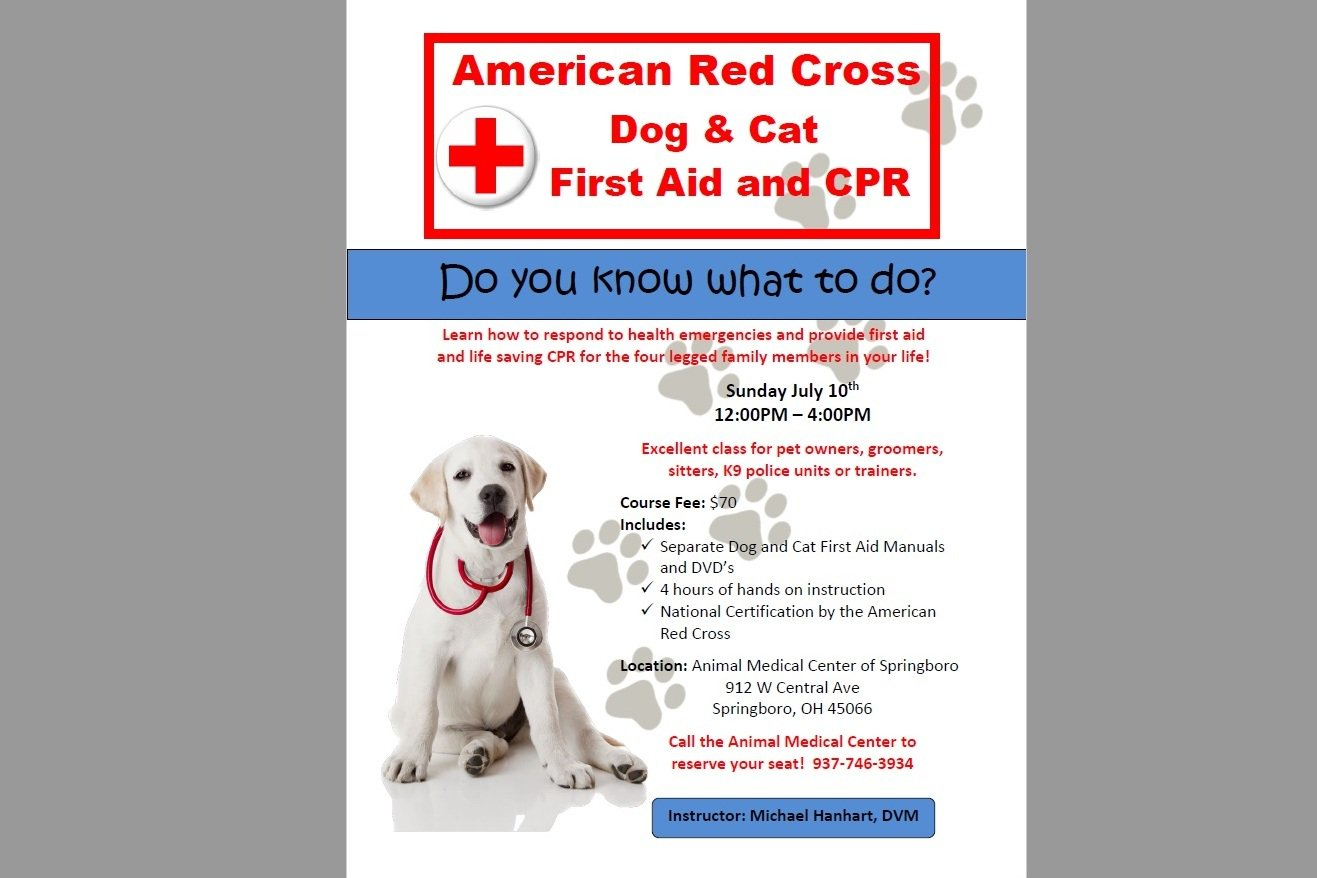 Michael hanhart dvm on twitter do you know what to do in a pet michael hanhart dvm on twitter do you know what to do in a pet med emergency reserve your seat in our redcross pet first aid course xflitez Choice Image