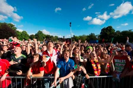 Cardiff Euro2016 Fanzone moves to Stadium. Ticket Info Here: https://t.co/3sHOzuLpPG #TogetherStronger https://t.co/NfKj7ht5Wr