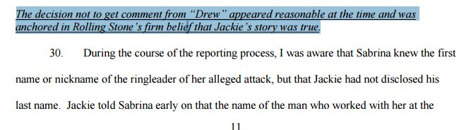 "Since RS ""believed"" Jackie, was ""reasonable"" not to ensure that alleged attacker even existed: https://t.co/ScEtOuVLcn"