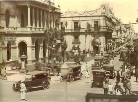 Los famosos azulejos de la ciudad de m xico en 1924 for Casa de los azulejos ciudad de mexico cdmx