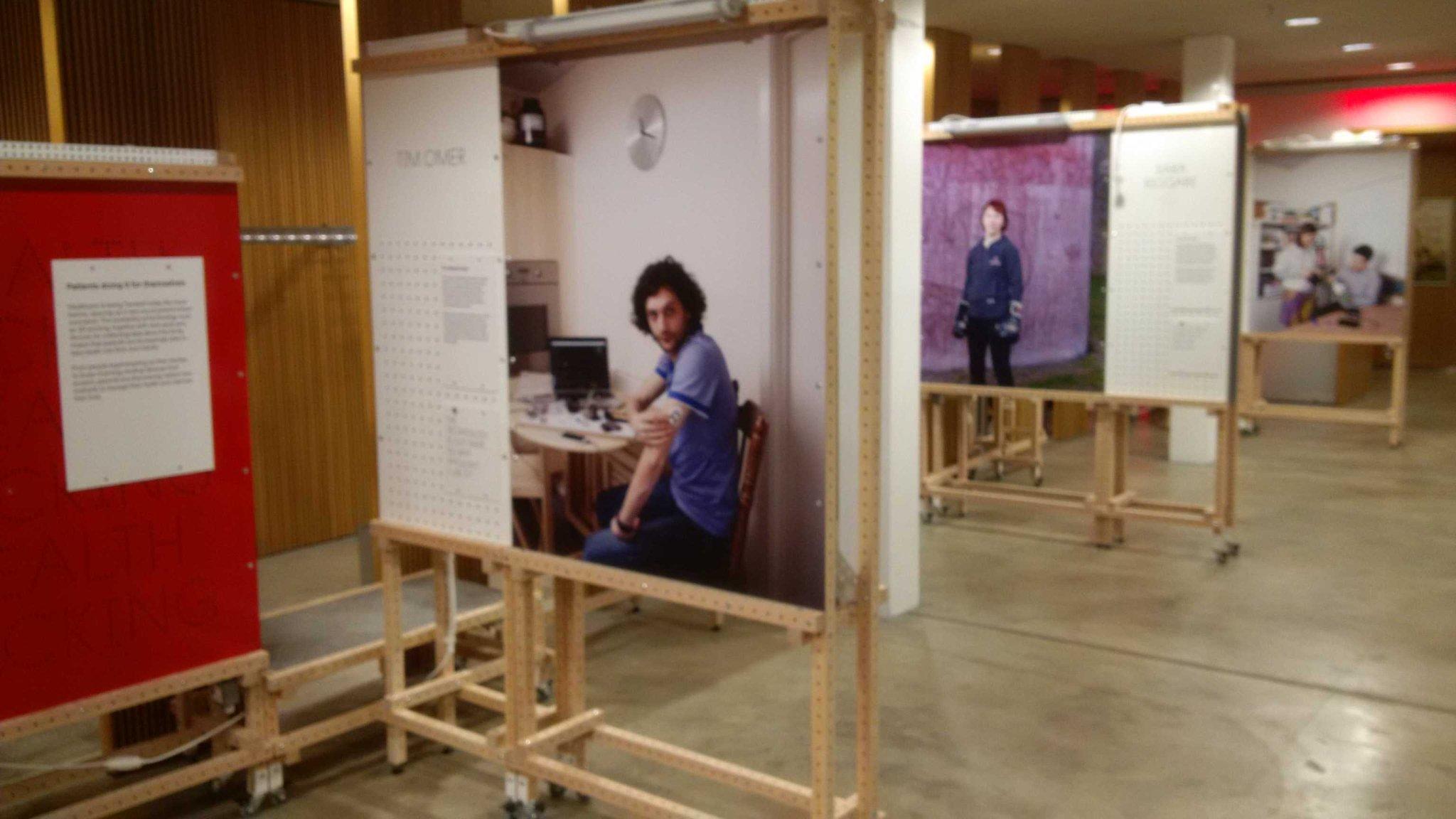 @sparks_eu The exhibition is taking shape https://t.co/QeK14wXgNm