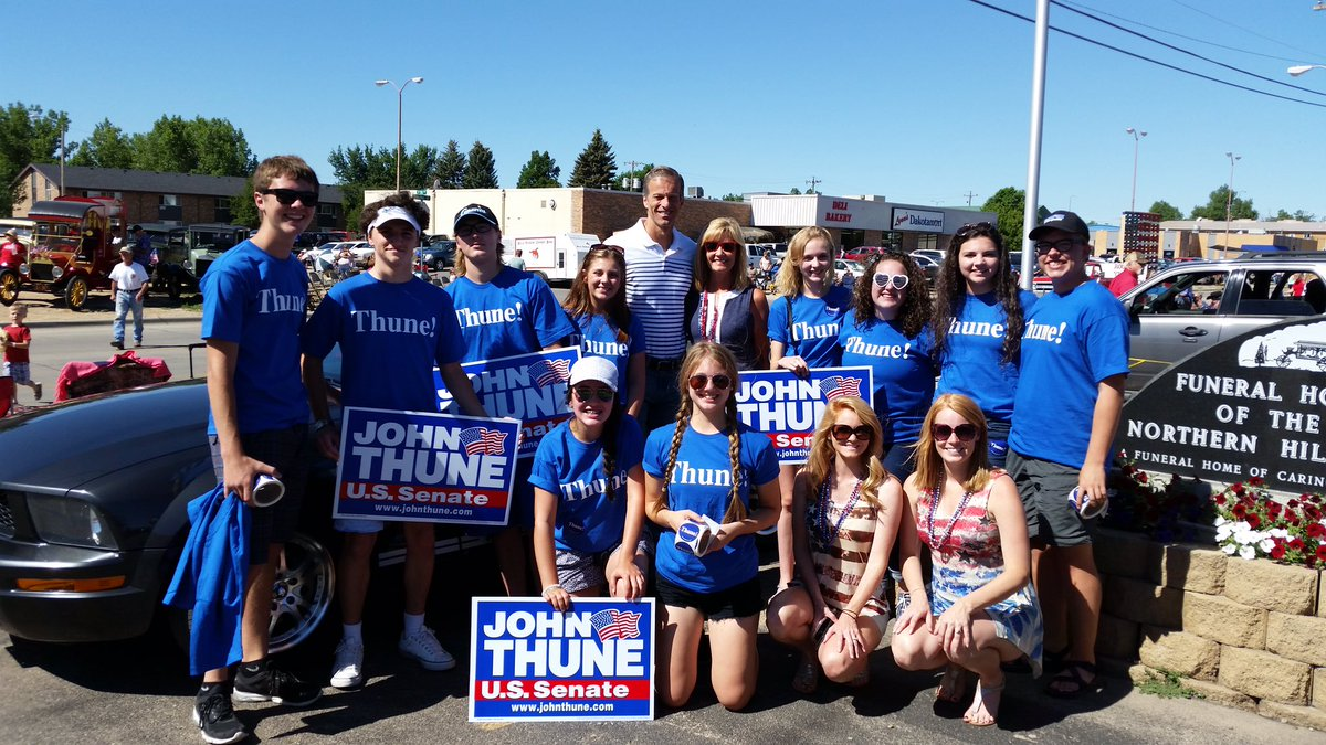 Thanks to all the TARS who showed their support today in Belle Fourche! Happy Independence Day!